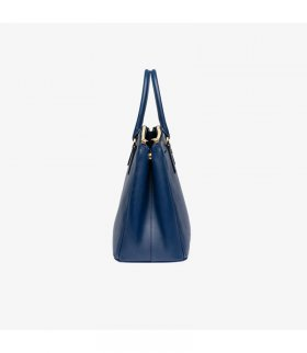 eaee5ef6200b83 ... Prada BN2274 Leather Tote In Navy Blue